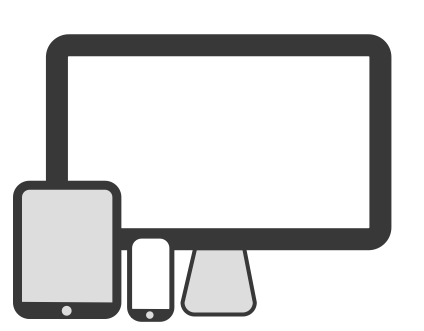 We build websites for many devices